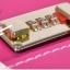 กระเป๋าเดินทางวินเทจ รุ่น vintage retro แดงคาดน้ำตาล ขนาด เซ็ตคู่ ขนาด 12+24 นิ้ว thumbnail 7