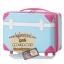 กระเป๋าเดินทางวินเทจ รุ่น colorful ฟ้าคาดชมพู ขนาด 20 นิ้ว thumbnail 3
