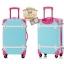 กระเป๋าเดินทางวินเทจ รุ่น colorful ฟ้าคาดชมพู ขนาด 20 นิ้ว thumbnail 2