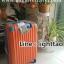กระเป๋าเดินทางล้อลากไฟเบอร์ รุ่น colorful ส้มขอบฟ้า ขนาด 20/24/28 นิ้ว thumbnail 5