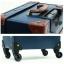 กระเป๋าเดินทางวินเทจ รุ่น retro brown น้ำเงินคาดน้ำตาล ขนาด 20 นิ้ว thumbnail 8