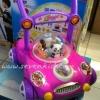 รถผลักเดินเด็ก รุ่นปรับหนืดได้ สีชมพู/ม่วง สามารถปรับความลื่นของล้อได้ค่ะ