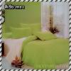 ผ้าปูที่นอนสีพื้น เกรด A สีเขียวตอง ขนาด 6 ฟุต 5 ชิ้น