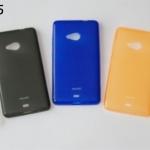 เคส Lumia 535 (Microsoft) - เคสยาง