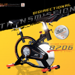 จักรยานออกกำลังกาย SpinBike รุ่น 8706