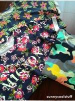 เสื้อผ้ายืดสไตล์ญี่ปุ่น เนื้อนิ่ม ลายสวย