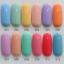 สีทาเล็บเจล EN.OU ยกเซ็ต 12ขวด คละสี LUXURY MACARONS thumbnail 1