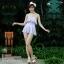 (Size S,M) ชุดว่ายน้ำ วันพีชกระโปรง ชุดสีรุ้ง Bikini_sp_001 thumbnail 2