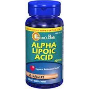 SALE 30% OFF :: PURITAN'S PRIDE :: Alpha Lipoic Acid 200 mg - 50 Capsules อัลฟาไลโปอิค 200 mg ต่อต้านอนุมูลอิสระ ช่วยตับทำงาน ดูแลผิวพรรณ