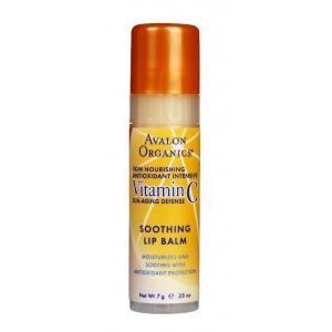 ลด 45 % AVALON ORGANICS :: Vitamin C Soothing Lip Balm ริมฝีปากนุ่มชุ่มชื่น ป้องกันแสงแดด ต่อต้านอนุมูลอิสระและริ้วรอยแห่งวัย