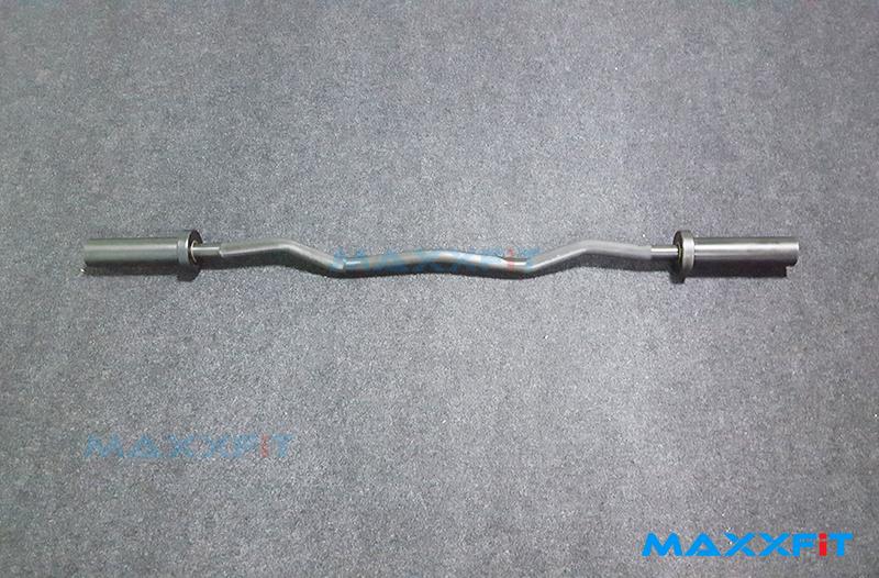 ขาย MAXXFiT OB47CB EZ Olympic Curl Bar Black Oxide Coated EZ บาร์ สีดำ