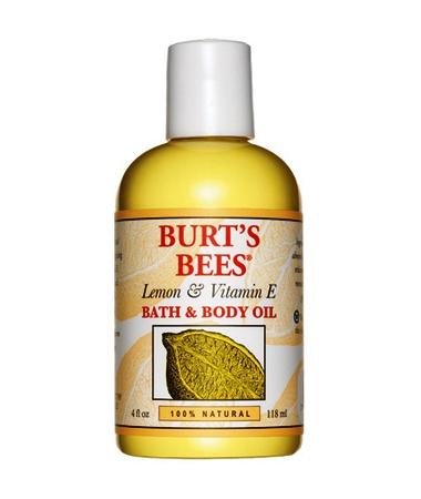 BURT'S BEES :: Burt's bee Lemon & Vitamin E Bath and Body Oil ออย์ที่คืนความชุ่มชื่นด้วยคุณค่าจาก vitamin E ปรับผิวเนียนนุ่ม