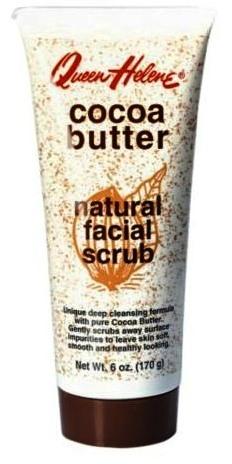ลด 23 % QUEEN HELENE :: Cocoa Butter Natural Facial Scrub สครับทำความสะอาดล้ำลึก ผสานคุณค่าของ โกโก้ บัทเทอร์