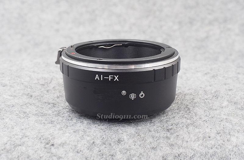 อแดปเตอร์แปลงท้ายเลนส์ NIKON ใช้กับกล้อง FUJI X