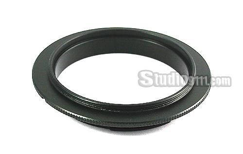 Reverse Ring แหวนกลับเลนส์ถ่ายมาโคร 49mm for CANON EOS M