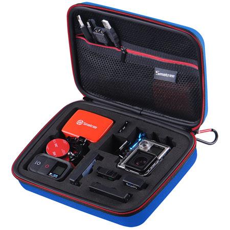 G160S-BL-BK SmaCase G160S รุ่นใหม่ EVA foam สีน้ำเงิน-ดำ สำหรับใส่กล้อง GoPro Hero5, Hero4,Hero3+,Hero3,Hero2