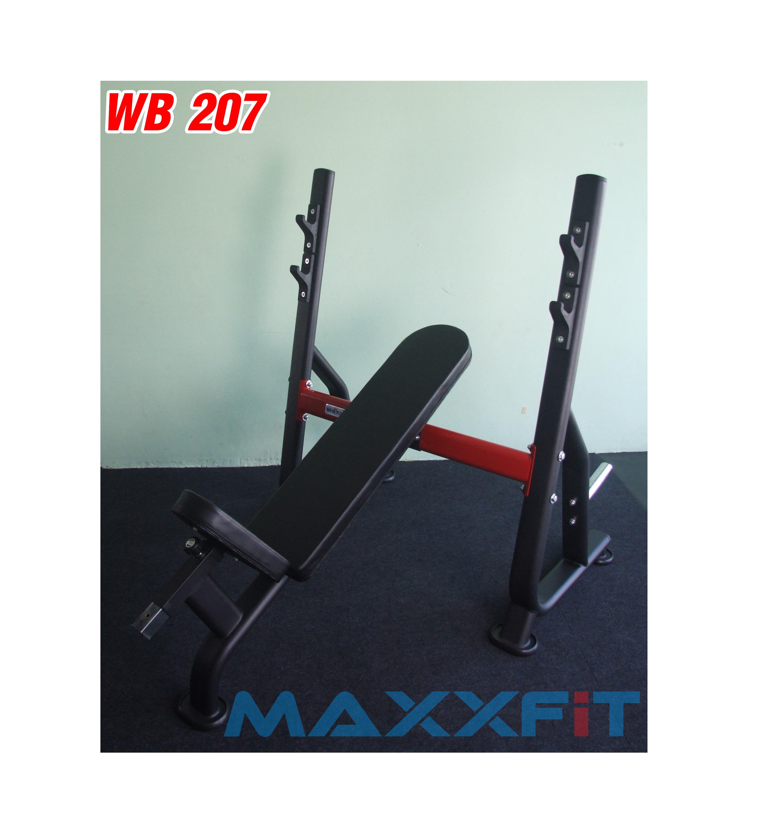 ขาย ม้านอนเล่นบาร์เบล MAXXFiT รุ่น WB207