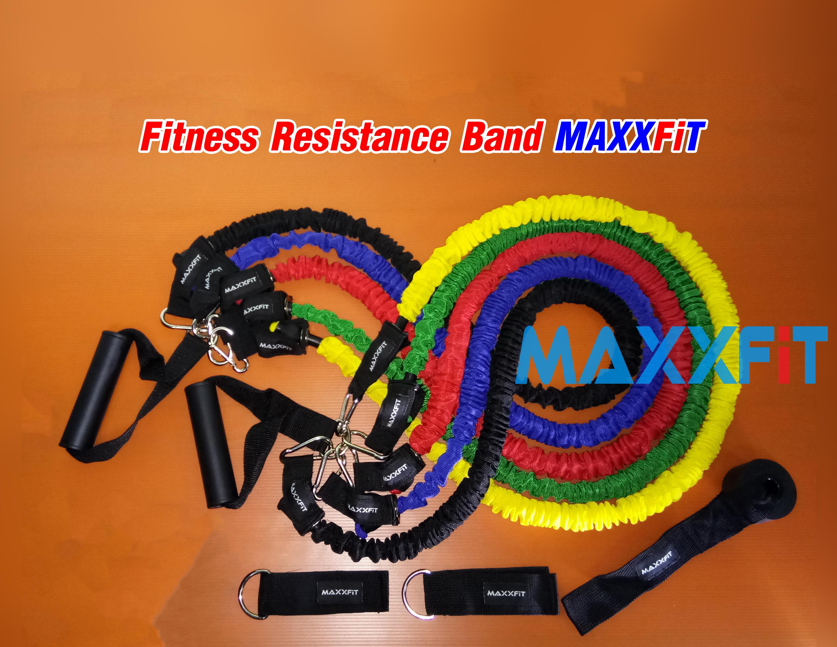 ขาย Fitness Resistance Band MAXXFiT ขายยางยืดออกกำลังกาย