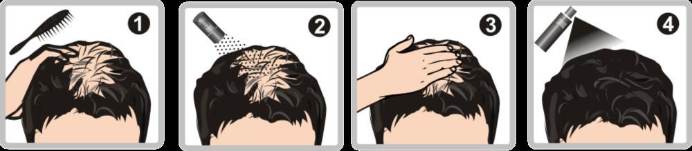 การใช้งาน samson hair fiber