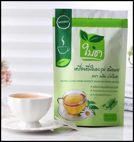 ใบชา เครื่องดื่มใบมะรุม ชนิดผง Moringa Tea
