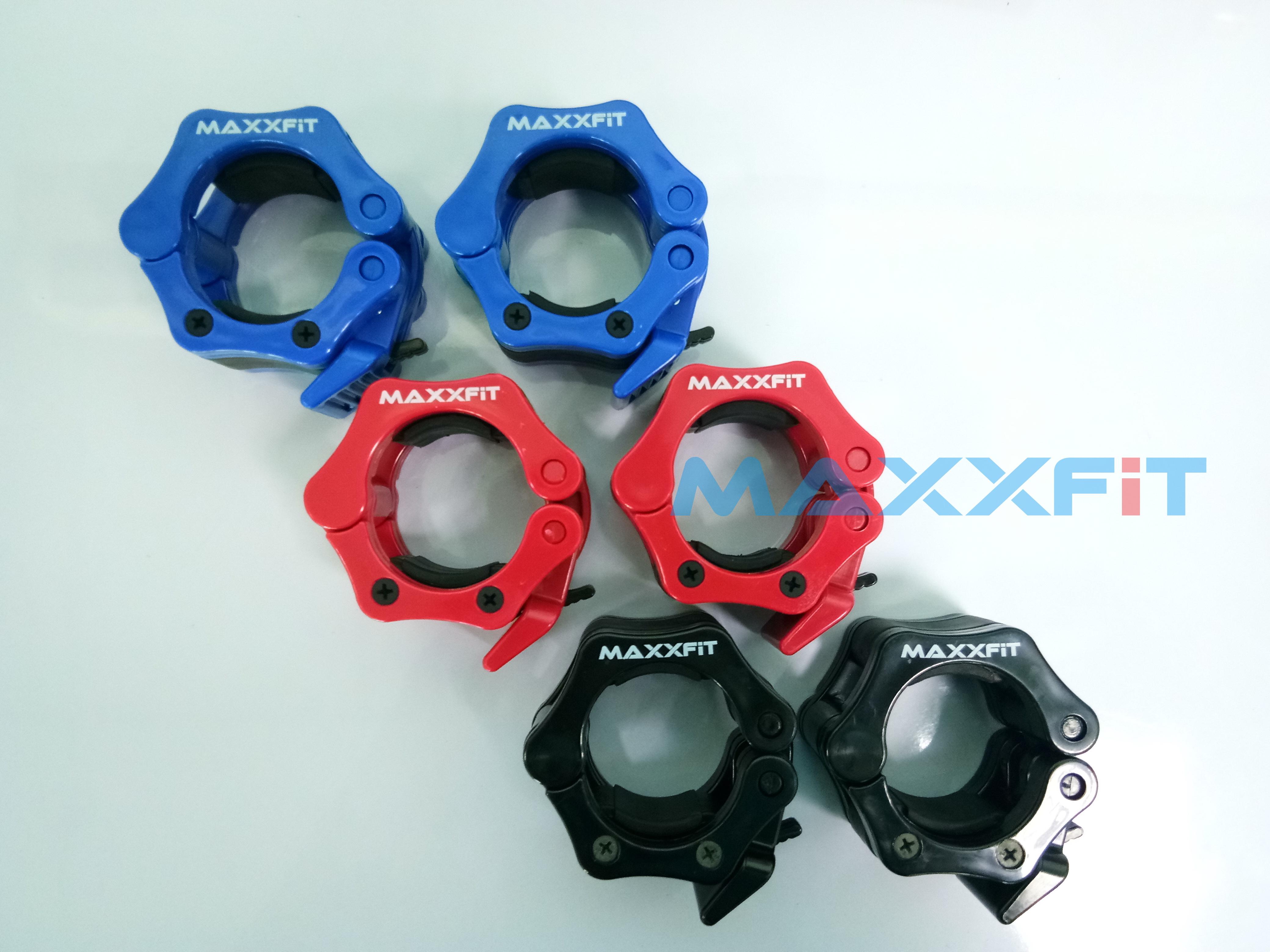 ขาย คลิปล็อคคานบาร์เบล 2 นิ้ว(MAXXFiT Lock Jaw Collar)