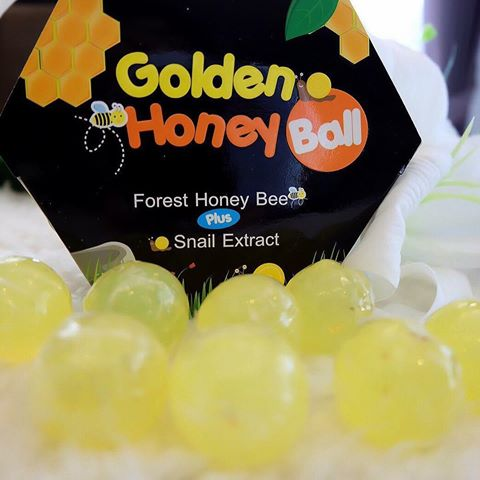มาส์กลูกผึ้ง (B'secret Golden Honey Ball)