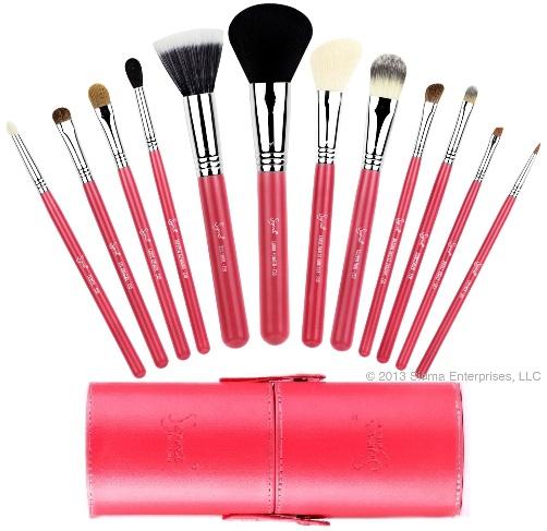 ลด 45 % SIGMA :: Essential Kit - Make Me Blush แปรงพื้นฐานชุด 12 ชิ้น ดูรายละเอียดด้านใน