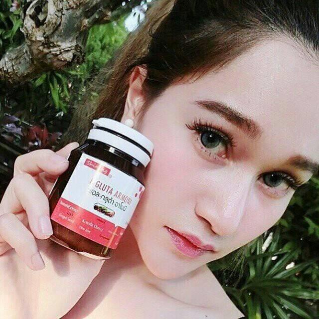 ขาย แอลกลูต้าอาโมนิ L-Gluta Armoni Red Fruit โปรโมชั่น ส่งฟรี EMS