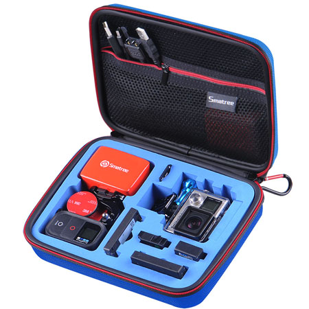 G160S-BL-BL SmaCase G160S รุ่นใหม่ EVA foam สีน้ำเงิน-น้ำเงิน สำหรับใส่กล้อง GoPro Hero4,Hero3+,Hero3,Hero2