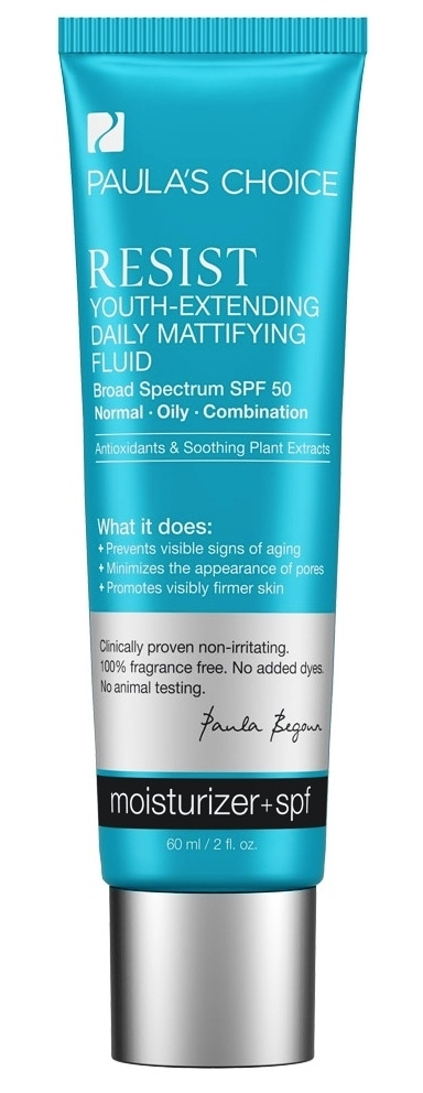 PAULA'S CHOICE RESIST Youth-Extending Daily Mattifying Fluid SPF 50