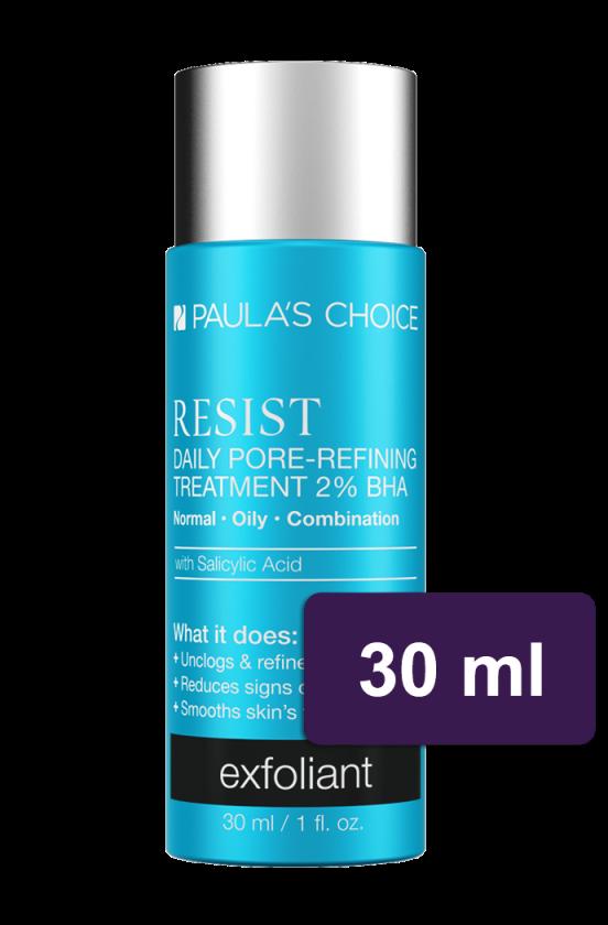 PAULA'S CHOICE :: DELUXE Resist Daily Pore-Refining Treatment With 2% BHA ลดสิว ริ้วรอยแห่งวัย รอยแดง ช่วยทำความสะอาดรูขุมขน ผลัดเซลล์ผิวอย่างอ่อนโยน