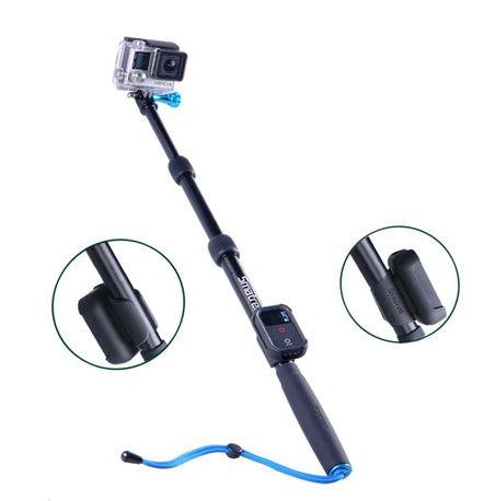 "Smatree® SmaPole S2 All-aluminum alloy 16""-40"" Handheld Pole สำหรับ GoPro Hero 4, 3+, 3, SJ4000, SJ5000"