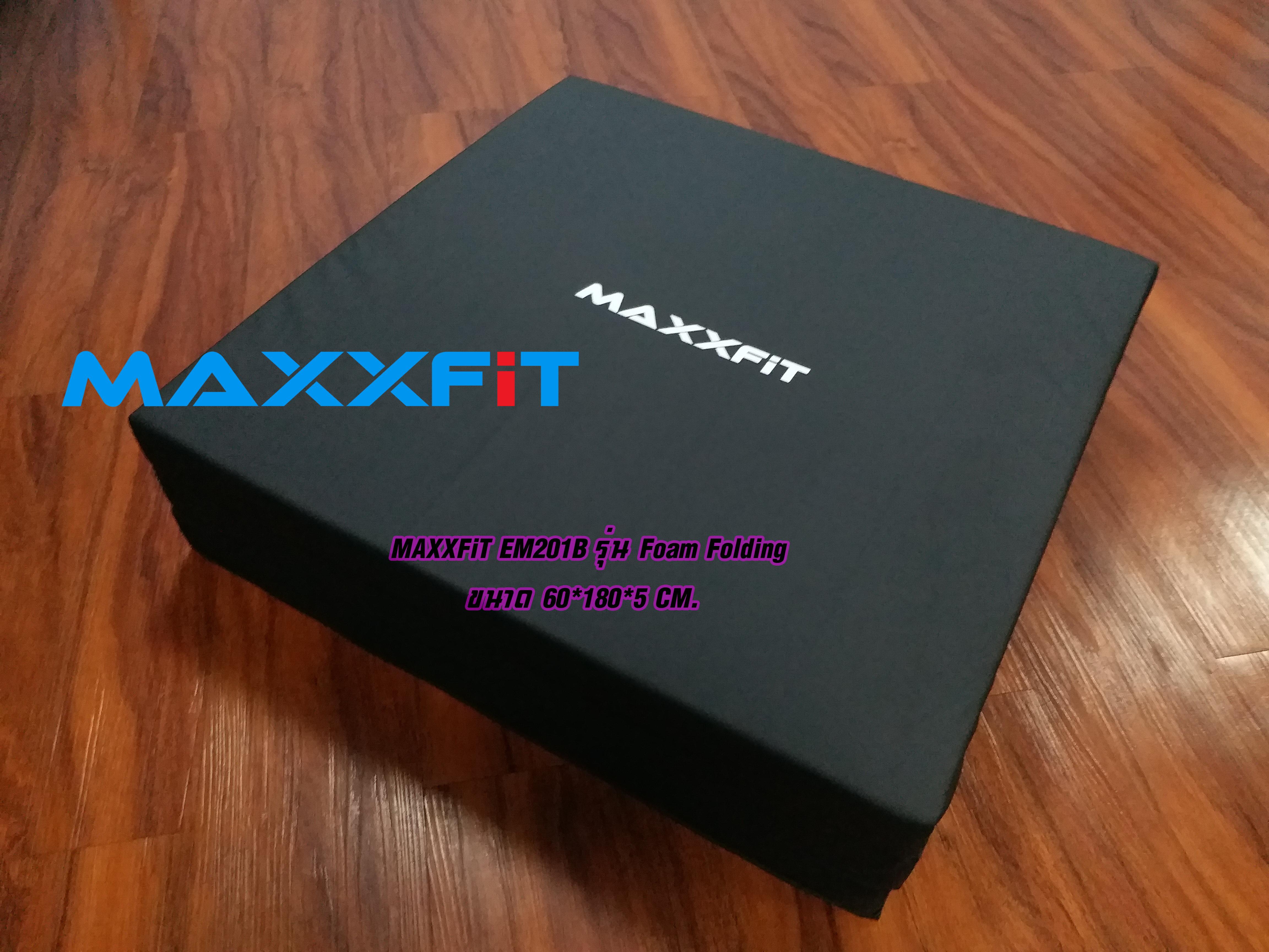 ขาย MAXXFiT EM201B Foam Folding Gym Mat 60*180*5 CM.
