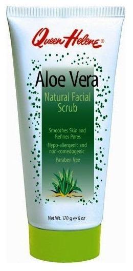 ลด 23 % QUEEN HELENE :: Aloe Vera Natural Facial Scrub สครับผิวให้นุ่ม ชุ่มชื้น และอ่อนโยน ด้วยคุณค่าของอโลเวร่า