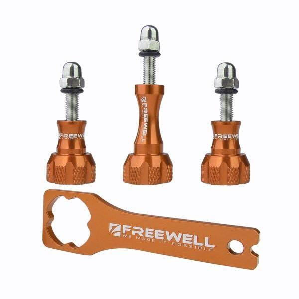Freewell Thumb knob & Wrench tool Aluminium สีส้ม