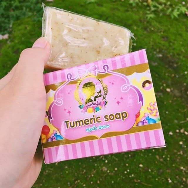 สบู่ขมิ้นกลูต้า (Tumeric Soap)