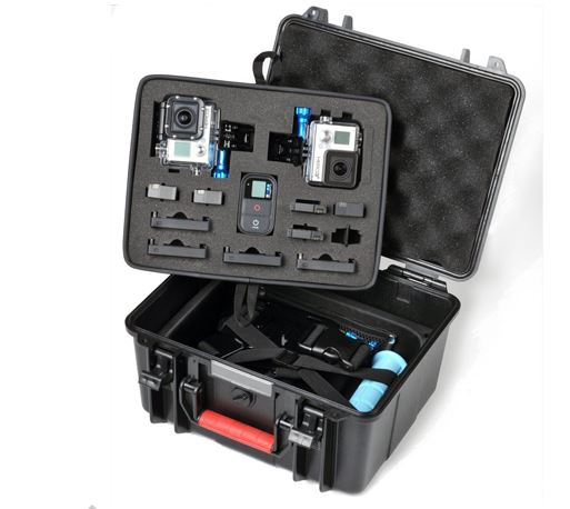 Smatree® SmaCase GA700-2 Floaty & Watertight Gopro Case with ABS materials- Carrying and Travel สำหรับกล้อง GoPro,SJ4000, SJ5000