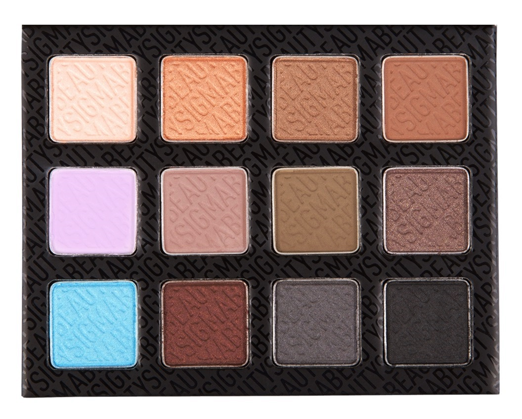 SIGMA Eye Shadow Palette - Smoke Screen