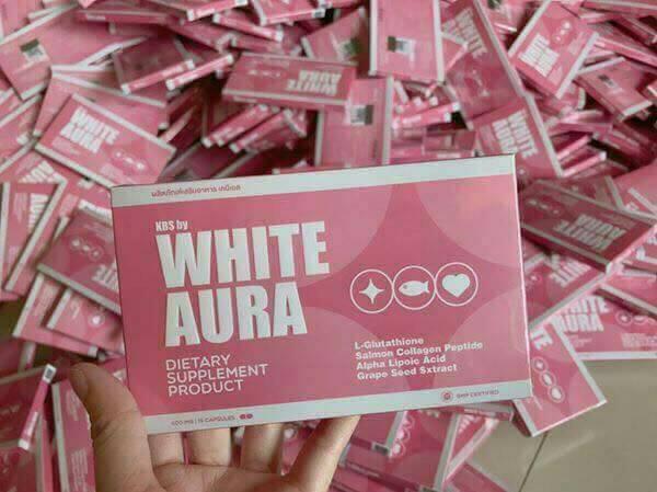 กลูต้าไวท์ออร่า (kbs by white aura)