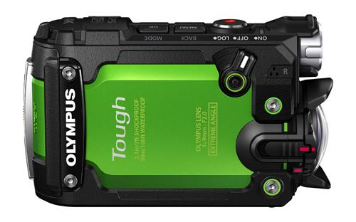 Olympus Stylus TOUGH TG-Tracker (กล้อง Action Camera) สีเขียว
