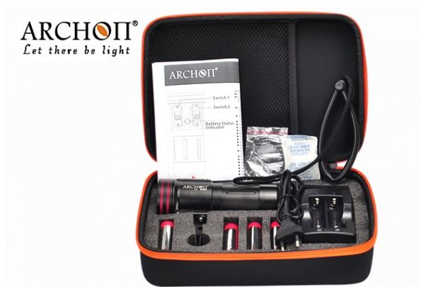 ไฟฉายดำน้ำ Archon W42VR Video Light 5200lumens สำหรับถ่ายภาพ ถ่ายวีดีโอใต้น้ำ