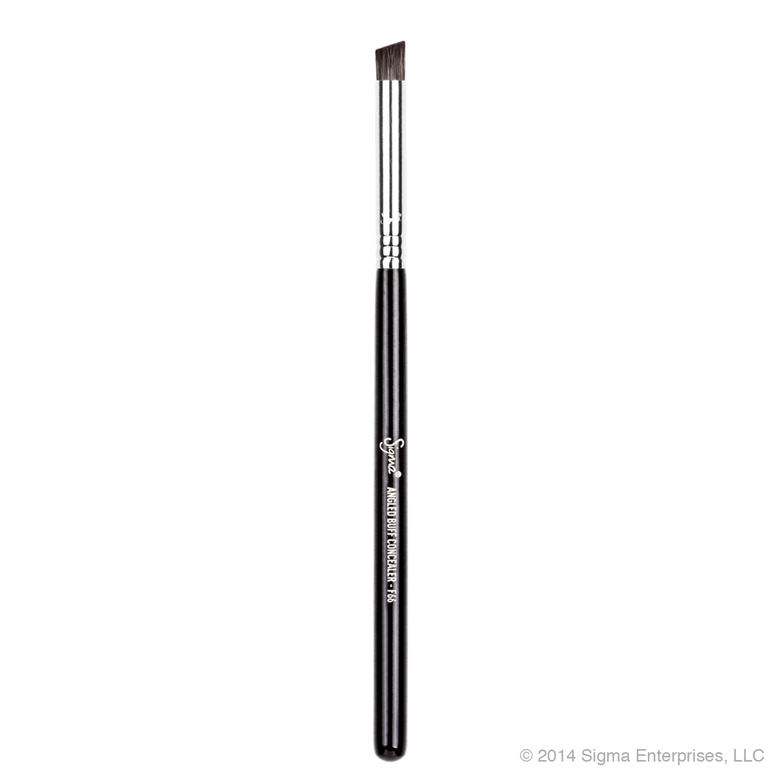 ลด 17 % SIGMA :: F66 - Angled Buff Concealer แปรงหัวตัดขนสังเคราะห์ เล็ก และแน่น ใช้สำหรับเกลี่ยสีคอนซิลเลอร์บริเวณใต้ดวงตา ร่องจมูกให้สีดูสม่ำเสมอ