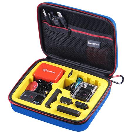 G160S-BL-YE SmaCase G160S รุ่นใหม่ EVA foam สีน้ำเงิน-เหลือง สำหรับใส่กล้อง GoPro Hero5, Hero4,Hero3+,Hero3,Hero2