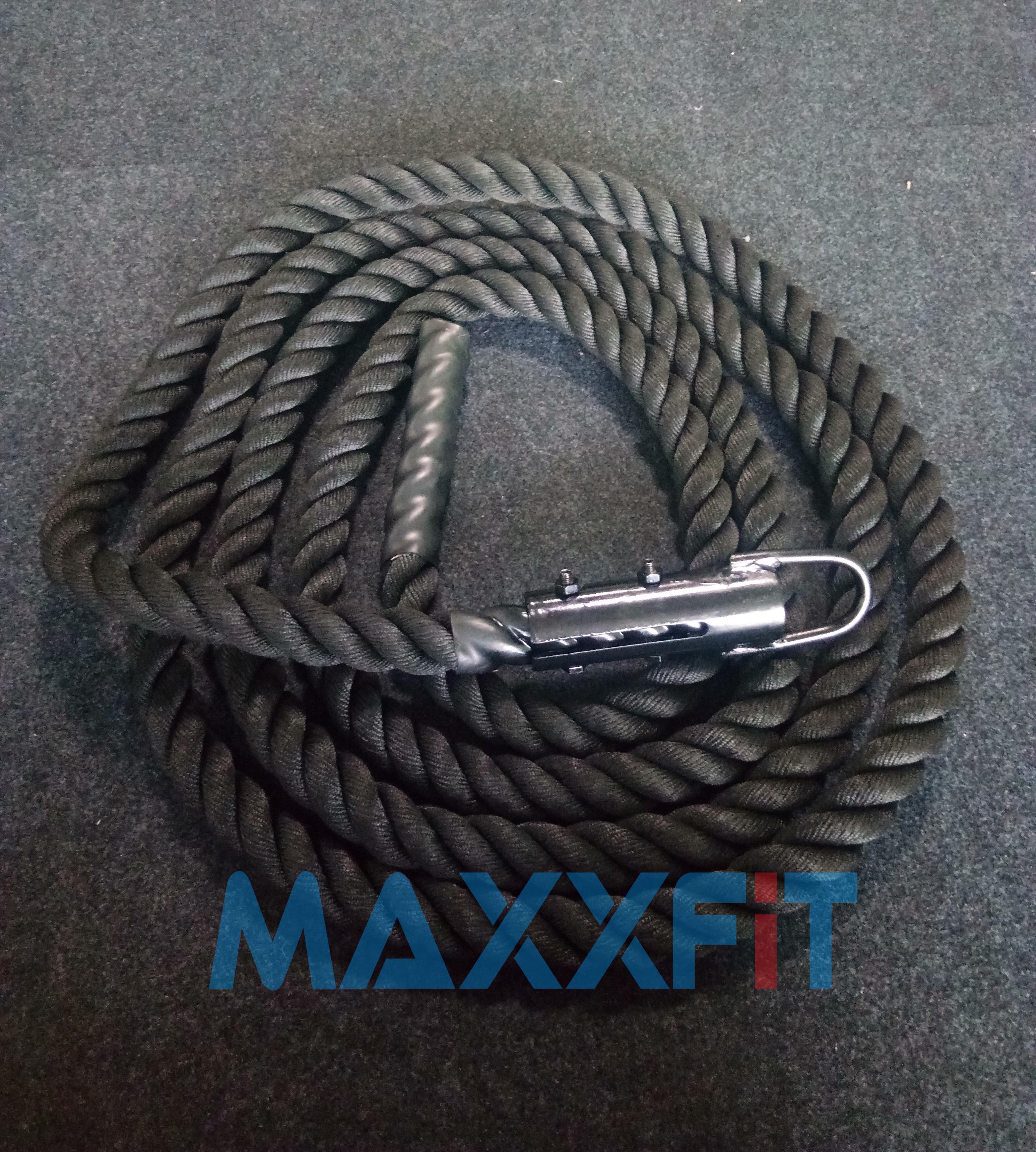 ขาย เชือกสำหรับปีนสีดำ CrossFit Rope Climbing Black