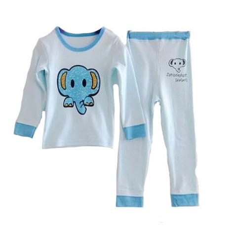 **ชุดเซ็ตชุดนอนเด็ก |ช้าง | 80-90-100-110 (1-7yr)| 4ชุด/แพ๊ค | เฉลี่ย 150/ชุด