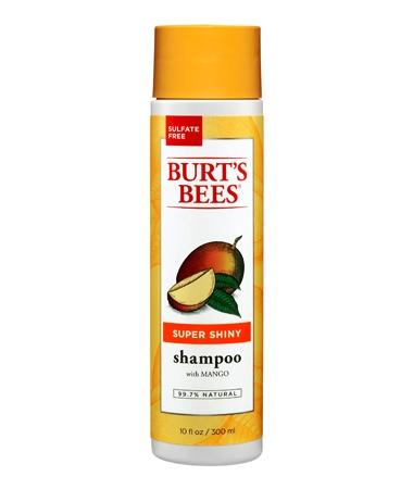 BURT'S BEES :: Burt's bee Super Shiny Mango Shampoo แชมพูทำความสะอาดผม คืนความชุ่มชื่น ด้วยสารสกัดเข้มข้นจากมะม่วง