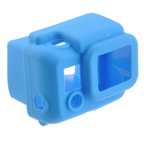 S4-BU Silicone Cover สำหรับกล้อง GoPro Hero3+,Hero4 สีดำ
