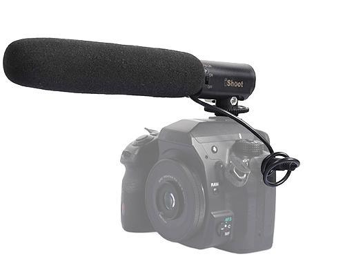 iShoot PL-MIC01 ไมโครโฟนกล้อง DSLR สำหรับถ่ายวีดีโอ