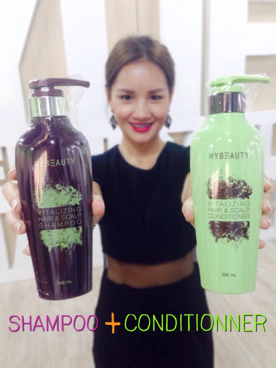 HyBeauty Vitalizing Hair & Scalp Shampoo Conditioner