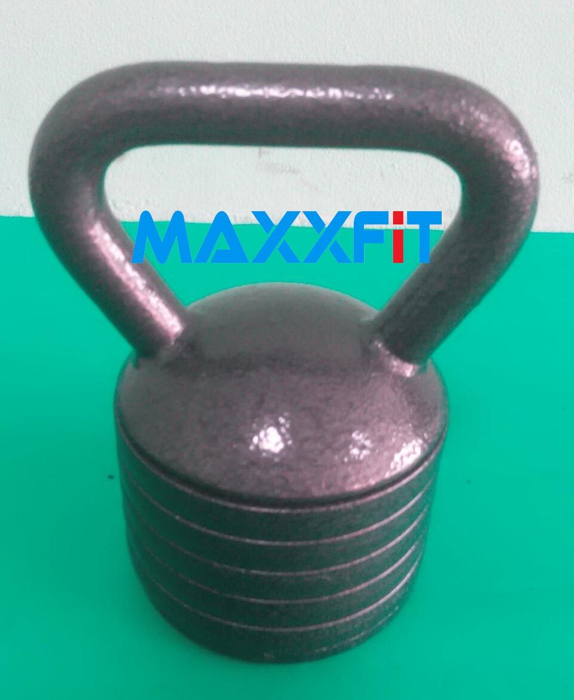 ขาย Kettle Bell แบบเหล็ก 20 KG. Cast Iron Adjustable สามารถปรับเปลี่ยนน้ำหนักได้